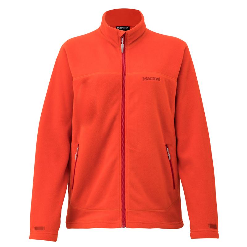 Marmot(マーモット) W's POLARTEC(R) Micro Jacket(ウィメンズポーラテックマイクロジャケット) M BOR(バーントオレンジ) TOWMJL40
