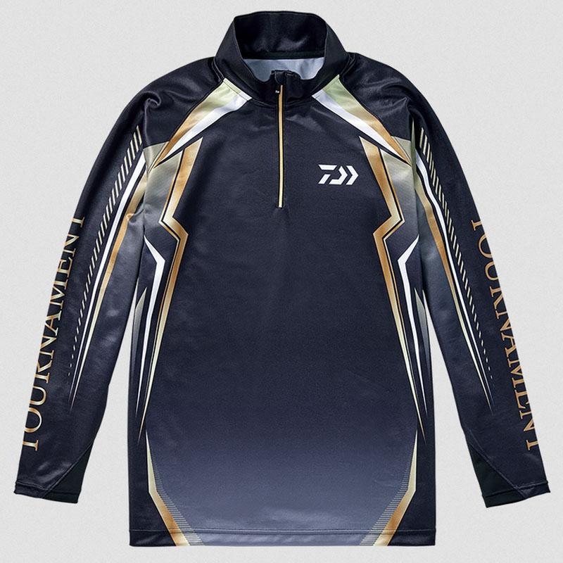 ダイワ(Daiwa) DE-77008T トーナメント ドライシャツ L ブラック 08330772