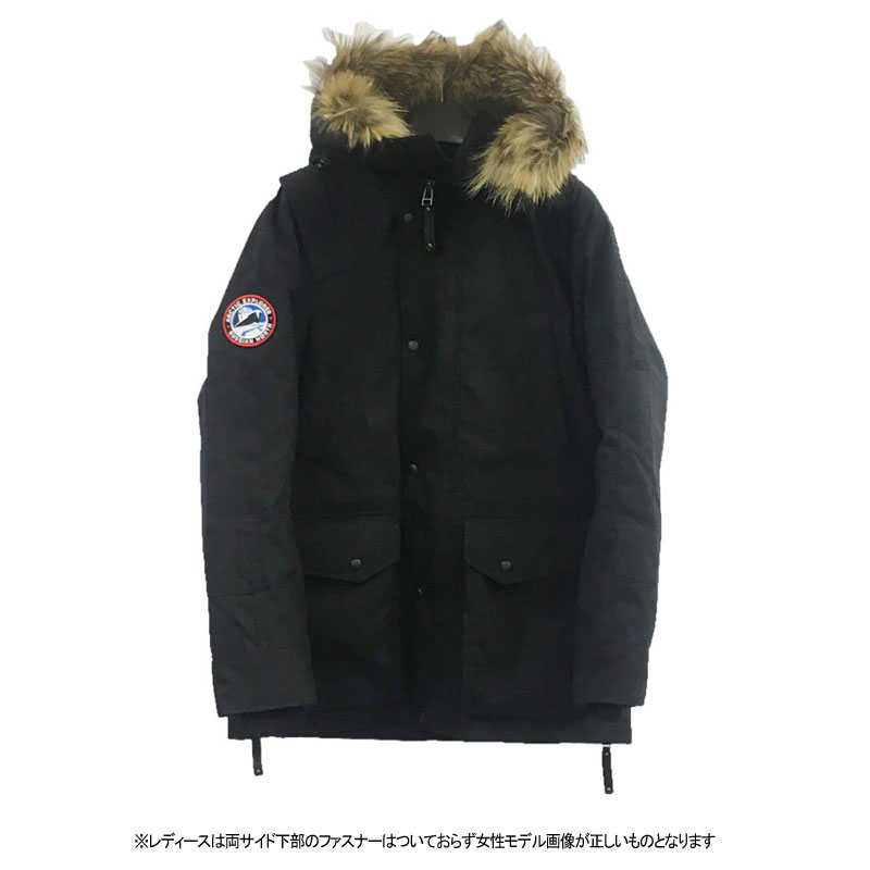 アークティック エクスプローラー(ARCTIC EXPLORER) CHILL PARKA 40 BLACK CHILL