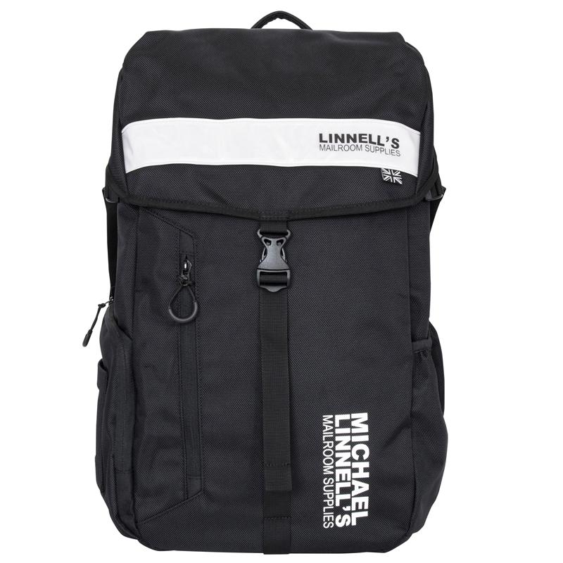 マイケルリンネル(MICHAEL LINNELL) Big Backpack(ビッグ バックパック) ML-008 30L Black×White 109774