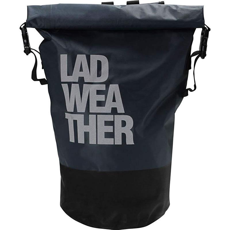 LAD WEATHER(ラドウェザー) 防水リュックサック 20L 20L 02(グレー) ladbag004bkwh