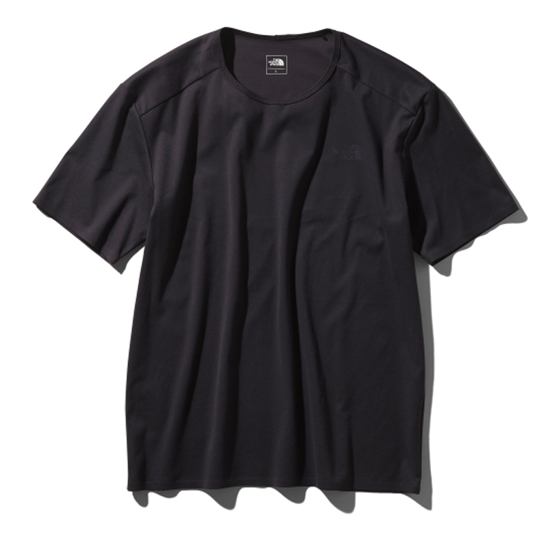 THE NORTH FACE(ザ・ノースフェイス) TECH LOUNGE S/S TEE(テック ラウンジ ショット Tシャツ) L K(ブラック) NT11963