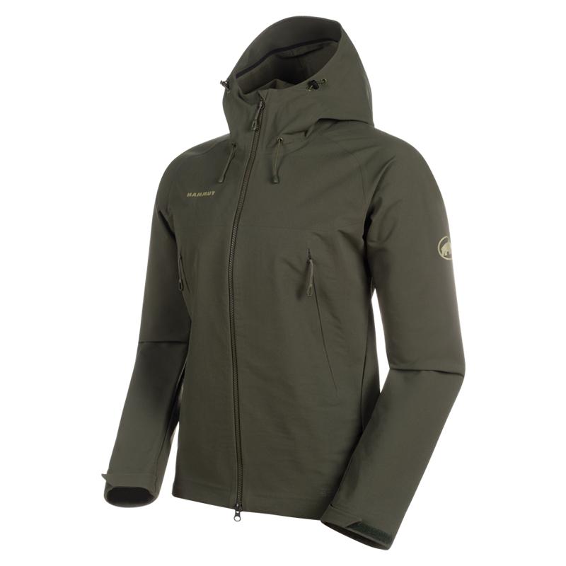 MAMMUT(マムート) Masao SO Jacket Men's L 4584(iguana) 1011-00460