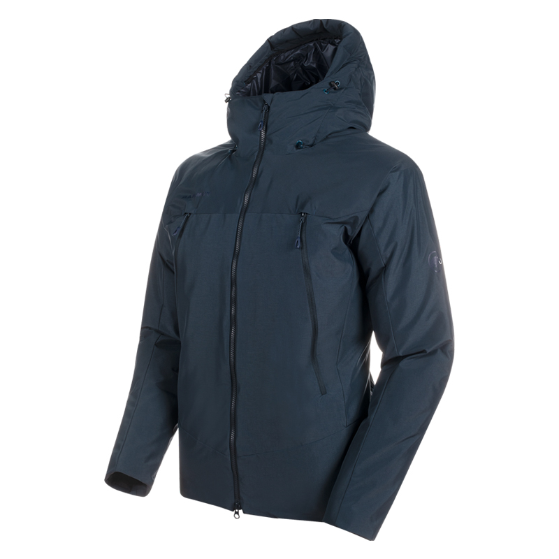 MAMMUT(マムート) Crater SO Thermo Hooded Jacket AF Men's M 50275(dark wing teal) 1011-00780