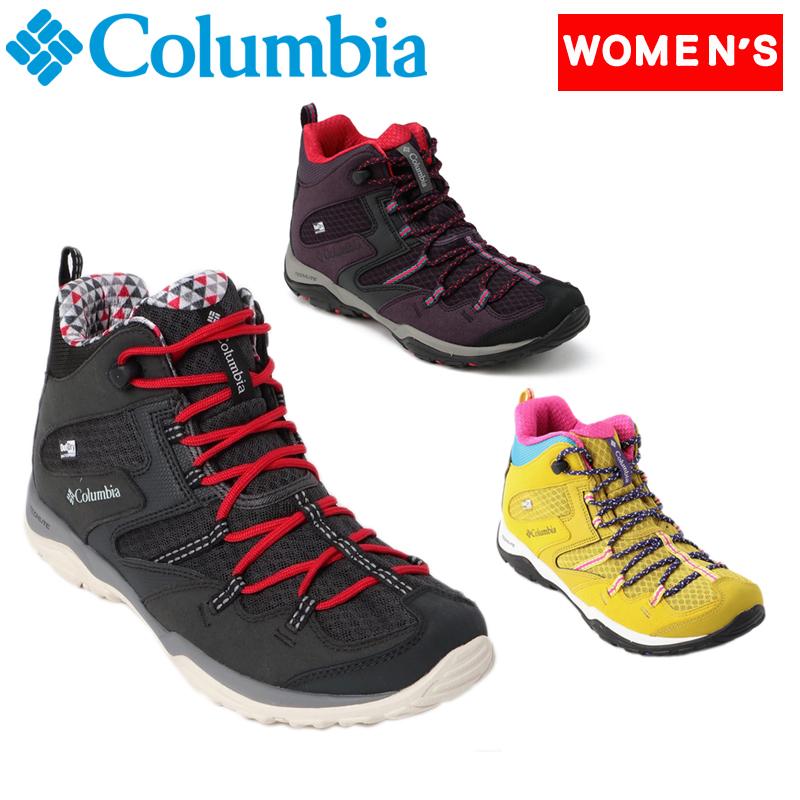 Columbia(コロンビア) SABER IV MID OUTDRY(セイバー 4 ミッド アウトドラ) Women's 5.5/22.5cm 506(DARK PLUM) YL7463