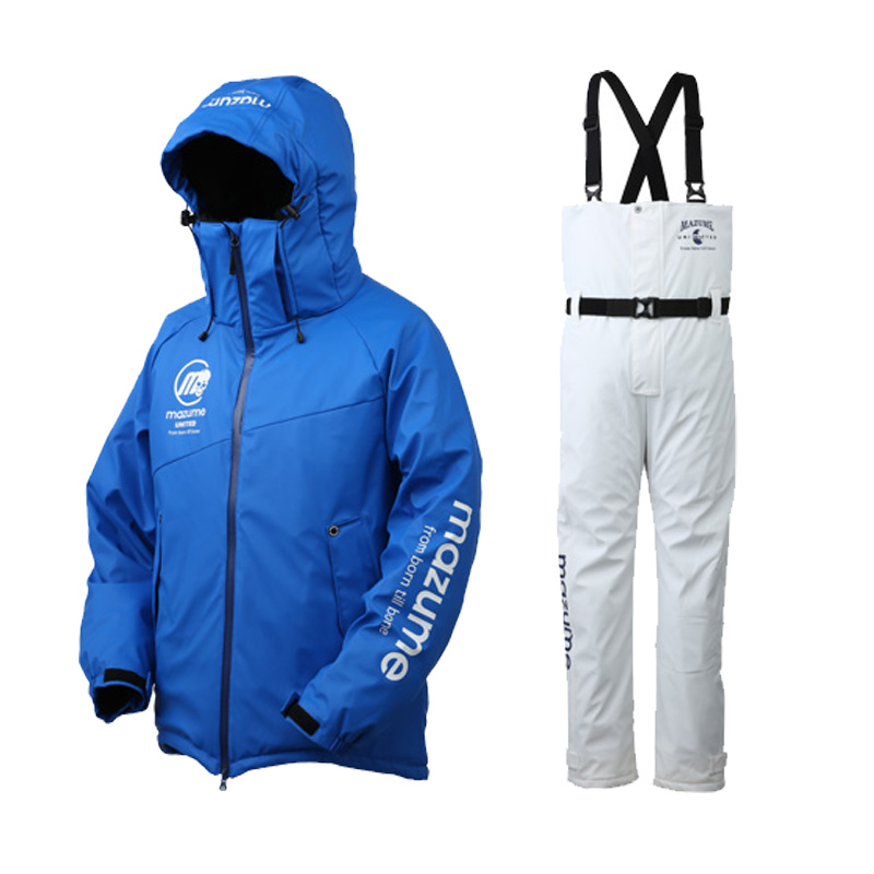 MAZUME(マズメ) mazume ROUGH WATER ALL WEATHER SUIT II L ブルー MZFW-435-10
