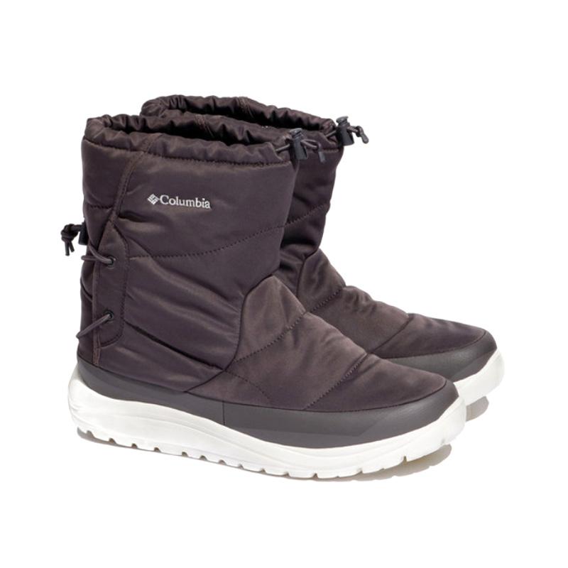 Columbia(コロンビア) スピンリール ブーツ ウォータープルーフ オムニヒート Men's 5/23.0cm 030(CHARCOAL) YU0276