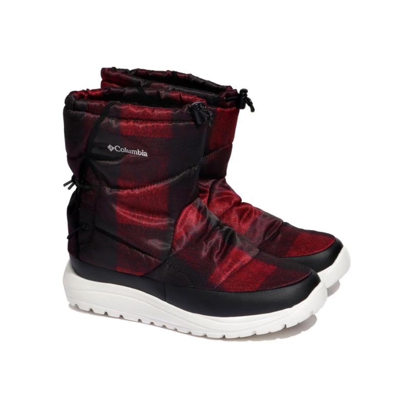 Columbia(コロンビア) スピンリール ブーツ ウォータープルーフ オムニヒート Men's 8/26.0cm 664(RED JASPER) YU0276