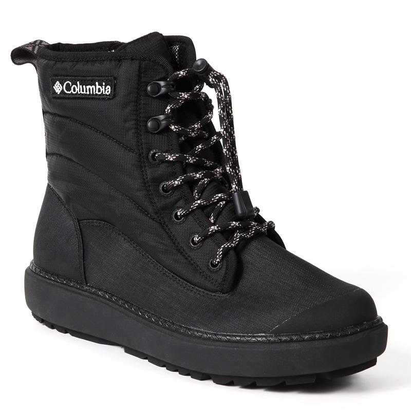 Columbia(コロンビア) SAPLAND ARC WATERPROOF OM(サップランドアークウォーター) Men's 6.5/24.5cm 010(BLACK) YU0279