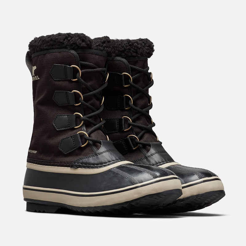 SOREL(ソレル) 1964 Pac Nylon(1964 パック ナイロン) Men's 8/26.0cm 011(BLACK×ANCIENT FOSSIL) NM3487