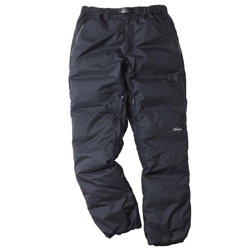 ナンガ(NANGA) AURORA DOWN PANTS(オーロラ ダウン パンツ) XL BLK