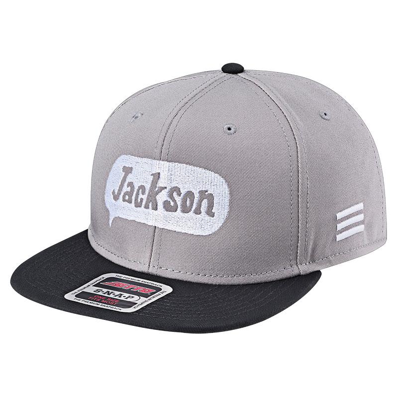 -フィッシングウェア- ジャクソン Jackson 大好評です スナップバックキャップ 爆売り CAP Baseball グレーブラック Baloonlogo