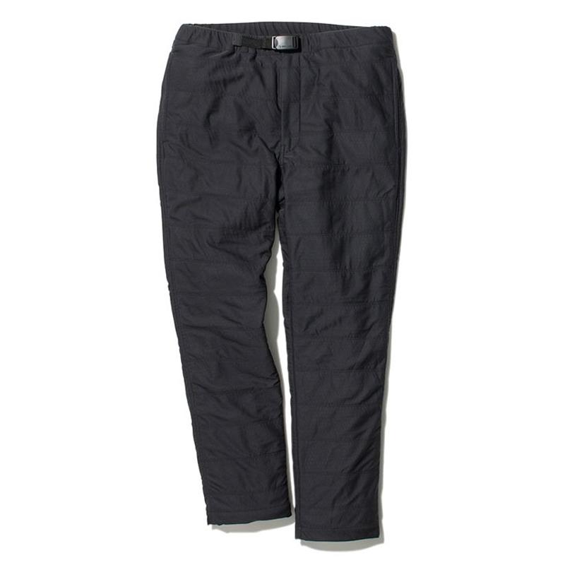 スノーピーク(snow peak) Flexible Insulated Pants Men's L ブラック PA-20SU00504BK