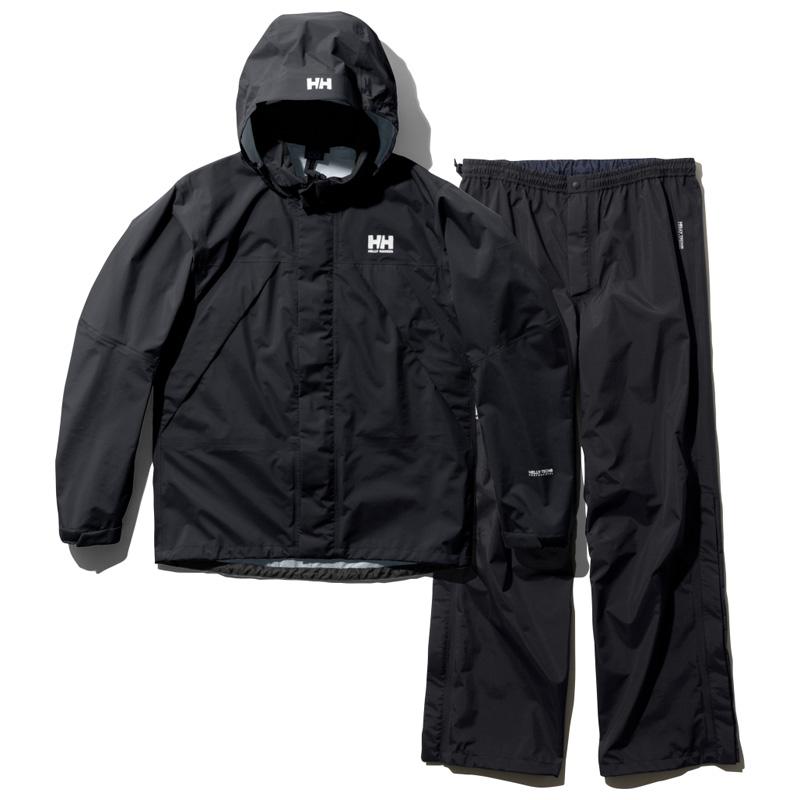 HELLY HANSEN(ヘリーハンセン) HELLY RAIN SUIT(ヘリー レイン スーツ) Men's L KO(ブラックオーシャン) HOE12000