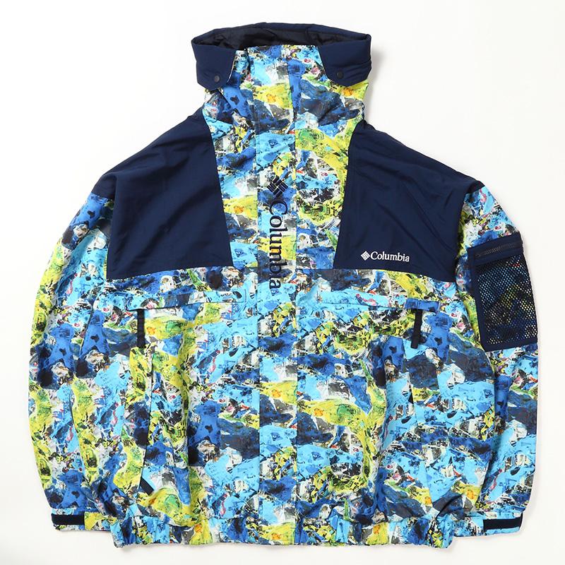 Columbia(コロンビア) Wolf Road Jacket(ウルフ ロード ジャケット) Men's S 499(Tokyo Blue Camo) PM3796