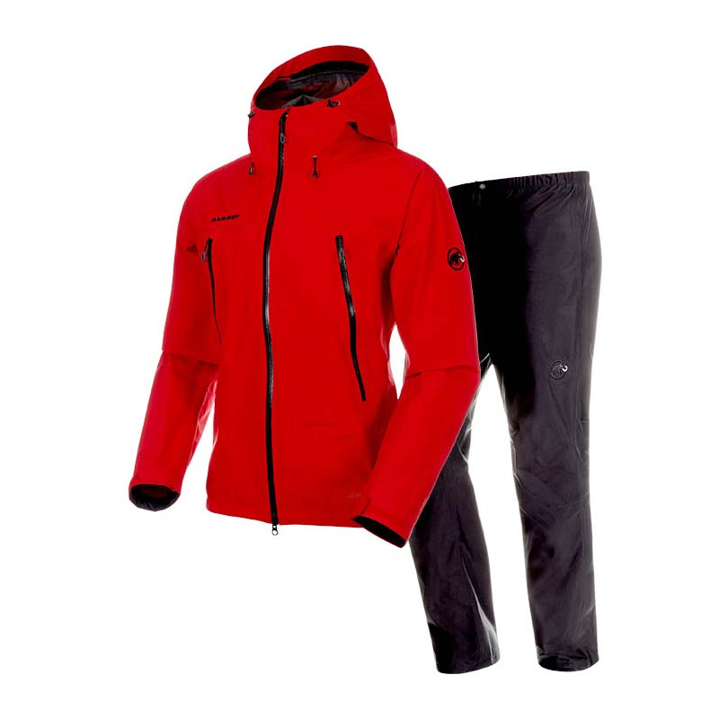 MAMMUT(マムート) CLIMATE Rain-Suit AF Men's S 3618(dark spicy-black) 1010-26551