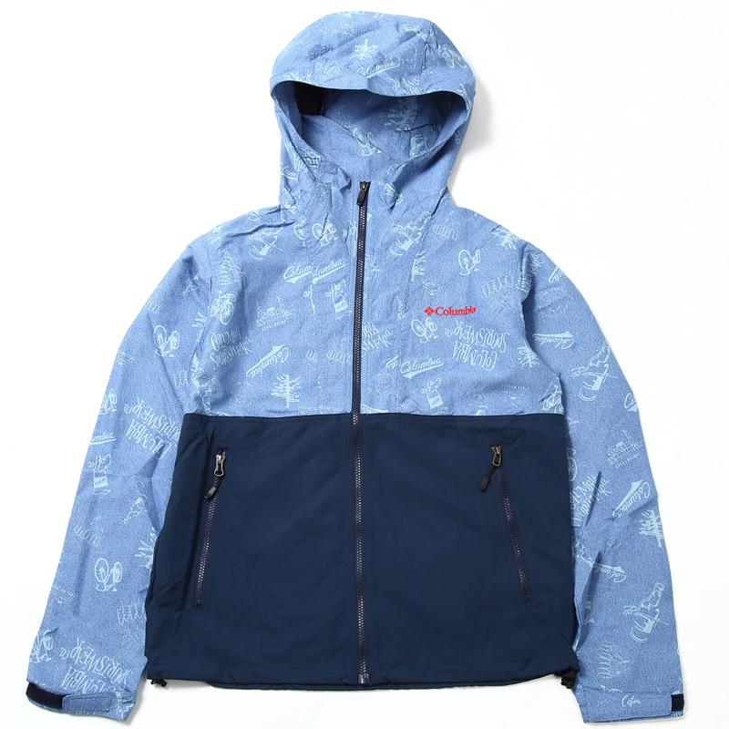 Columbia(コロンビア) Hazen Patterned Jacket(ヘイゼン バターンド ジャケット) Men's S 427(Portland Icons) PM3795