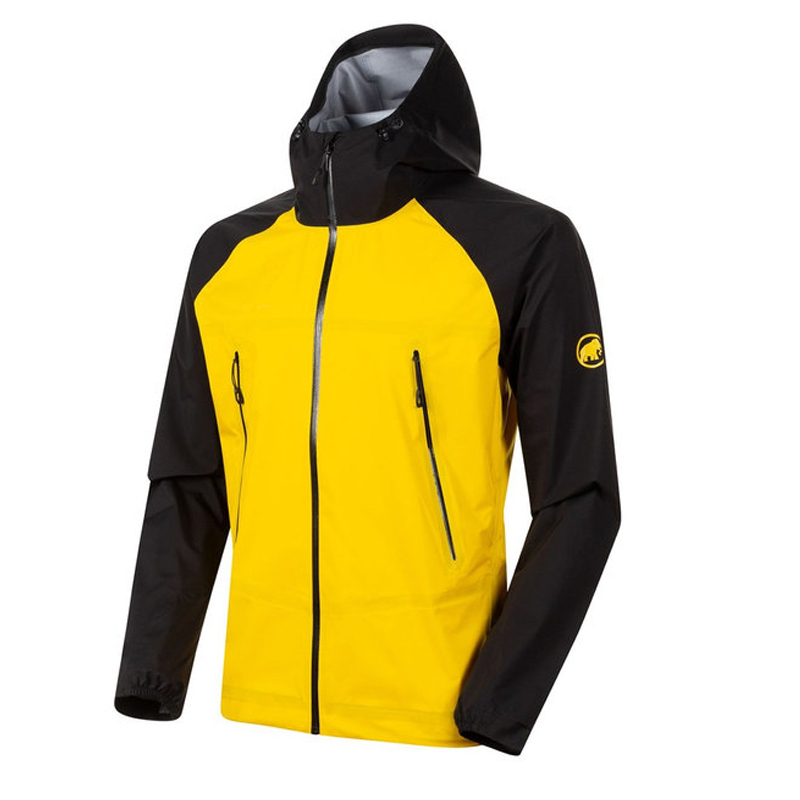 MAMMUT(マムート) Masao Light HS Hooded Jacket AF Men's S 00414(black×freesia) 1010-27100