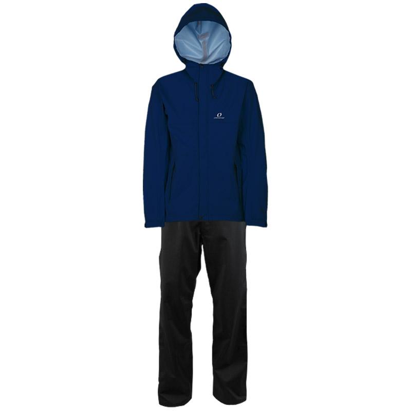 blue infinity ice(ブルーインフィニティアイス) MEN'S 3L COMBAT RAIN SUIT(3層 コンバット レインスーツ) L 669(ネイビー) ODS92030