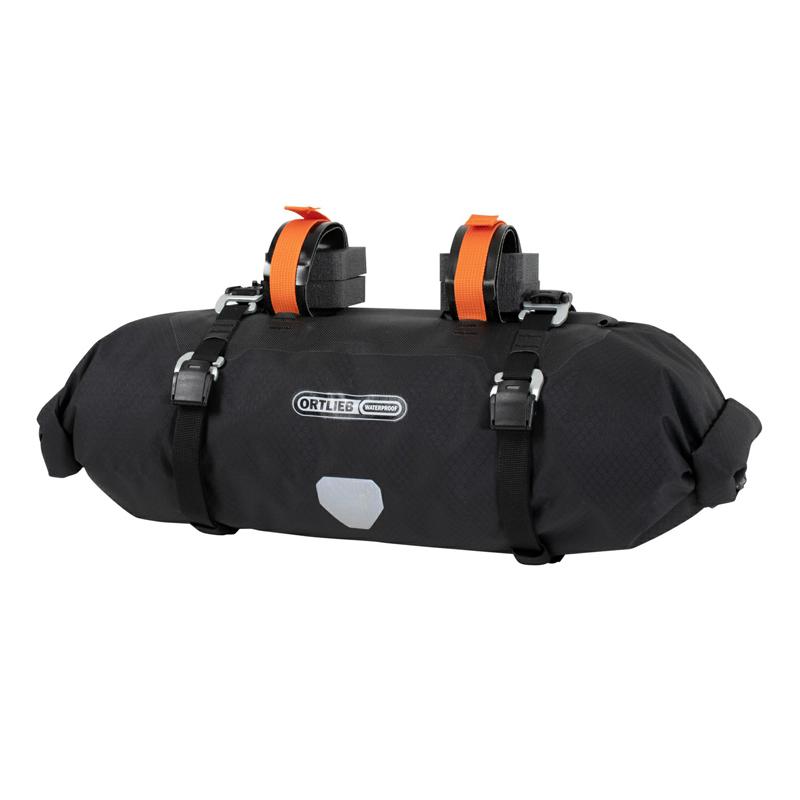 -自転車バッグ- 送料無料 ORTLIEB オルトリーブ 正規品 ハンドルバーパック 9L OR-F9932 サイクルバッグ NEW ARRIVAL 防水 バイクパッキング ブラックマット フォークバッグ