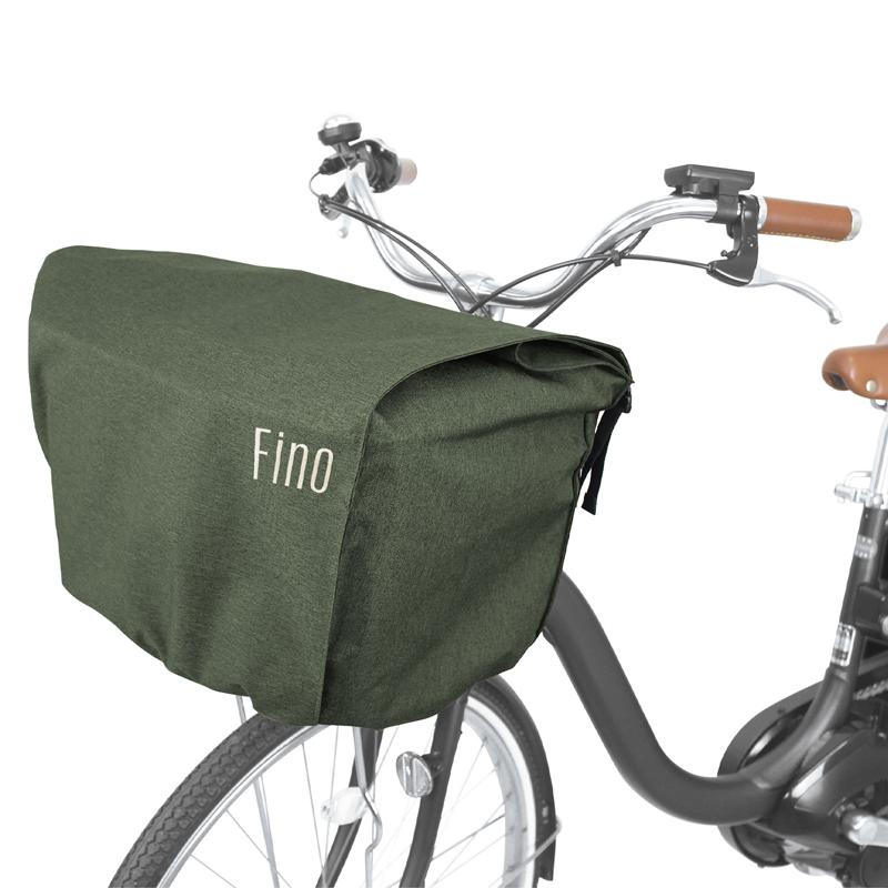 -自転車アクセサリー- FINO フィーノ FRONT BASKET COVER 売店 YBK03301 セール価格 FN-FR-01 カーキ 前用 自転車用カゴカバー