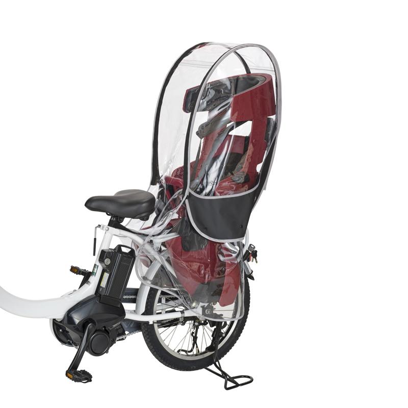 全品送料無料 -自転車アクセサリー- OGK技研 ショップ オージーケー ブラック RCR-009 ヘッドレスト付リヤチャイルドシート用レインカバー