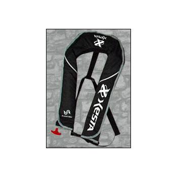 ゼスタ(XeSTA) ライフジャケット XESTAロゴ フリー ブラック