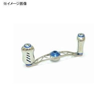 リブレ(LIVRE) クランク フェザー +Fino メインプレートSET(センターナット無し) 85mm TIB(チタン×ブルー) CF85P-FI-TIB