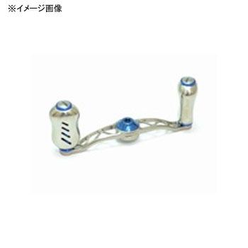 リブレ(LIVRE) クランク フェザー +Fino メインプレートSET(センターナット無し) 90mm TIB(チタン×ブルー) CF90P-FI-TIB