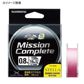 シマノ(SHIMANO) ミッション コンプリート EX8 150m 0.4号 トレーサブルピンク PL-M58M Tピンク  0.4