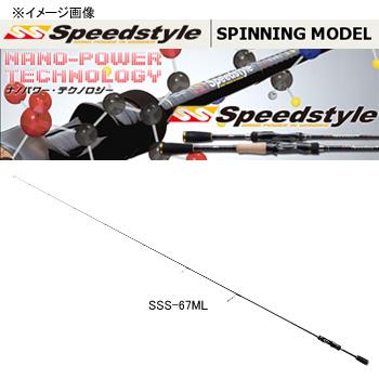 メジャークラフト スピードスタイル SSS-65L 【大型商品】