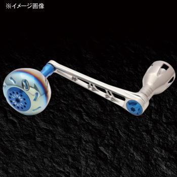 リブレ(LIVRE) POWER(パワー) シマノ8000番~14000番用 右巻き 98mm TIB(チタン×ブルー) PW98-SR814-TIB