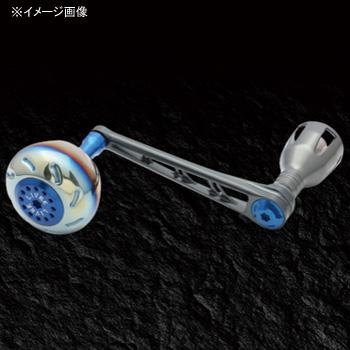 リブレ(LIVRE) POWER(パワー) シマノ18000番~20000番用 右巻き 98mm GMB(ガンメタ×ブルー) PW98-SR182-GMB