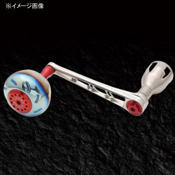 リブレ(LIVRE) POWER(パワー) シマノ18000番~20000番用 左巻き 98mm TIR(チタン×レッド) PW98-SL182-TIR