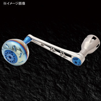 リブレ(LIVRE) POWER(パワー) シマノ18000番~20000番用 左巻き 98mm TIB(チタン×ブルー) PW98-SL182-TIB