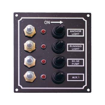 bmojapan(ビーエムオージャパン) LEDスイッチパネル 4連 C91337