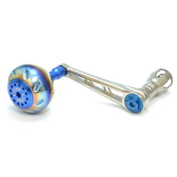 リブレ(LIVRE) POWER(パワー) シマノ8000番~14000番用 左巻き 78mm TIB(チタン×ブルー) PW78-SL812-TIB