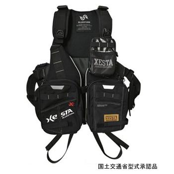 ゼスタ(XeSTA) エクストリームゲームベスト フリー ブラック