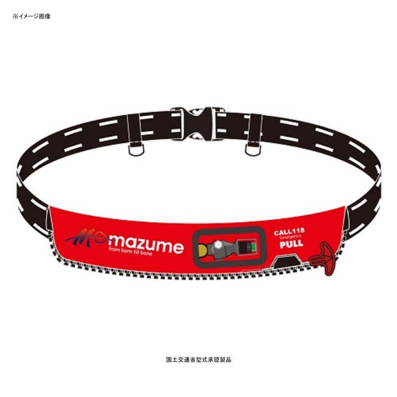 MAZUME(マズメ) インフレータブルウエスト タイプA 遊漁船(釣り船)対応 フリー レッド MZLJ-262-03