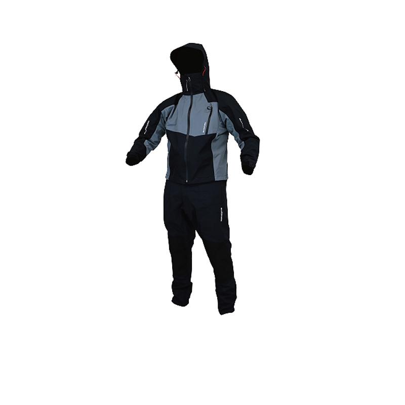 Takashina(高階救命器具) レインスーツ L ブラック BSJ-SRJ2