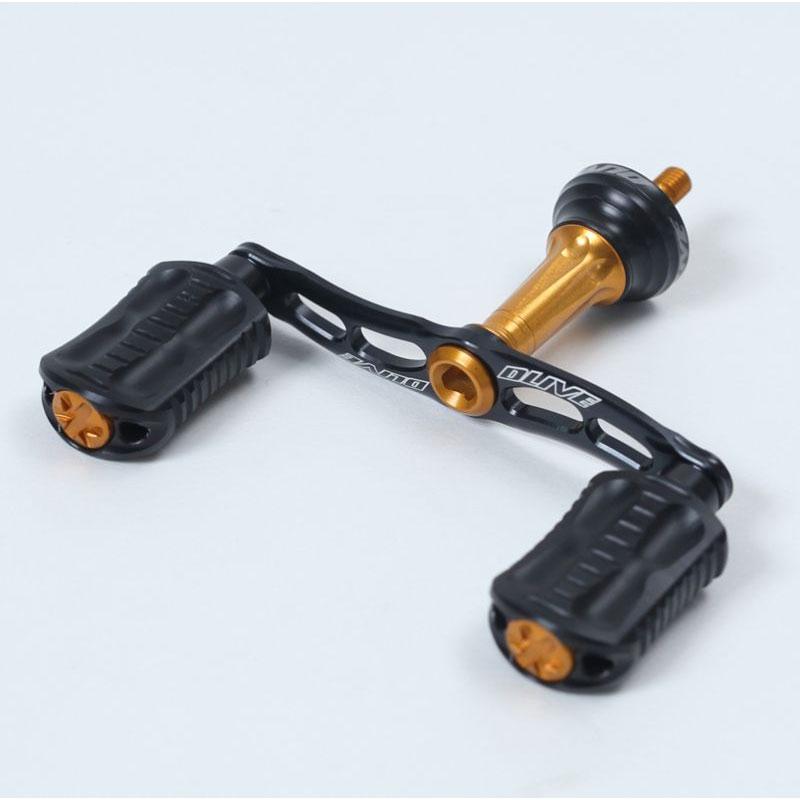 DLIVE(ドライブ) ウェーブ エアードライブW ダブルハンドル ダイワType1 左右共通 65mm ブラックオレンジ DLF-BH5D1-65BKOR