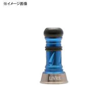 リブレ(LIVRE) カスタムバランサー Short シマノ&ダイワ共通 C1タイプ チタン×ブルー CBS-CA1-TIB