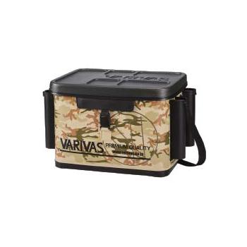 モーリス(MORRIS) VARIVAS タックルバッグ (ロッドスタンド付) 40cm サンドカモ VABA-39