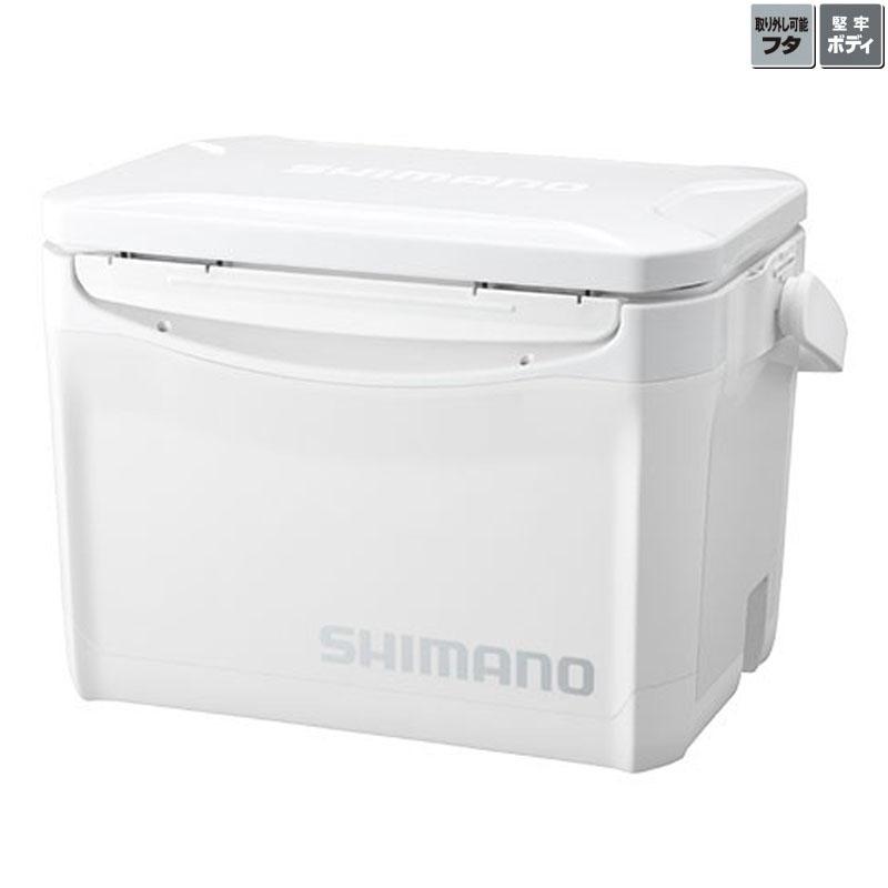 海外輸入 フィッシングクーラー シマノ SHIMANO LZ-326Q HOLIDAY-COOL 正規認証品 新規格 ホリデー 26L ピュアホワイト 53833 クール 260