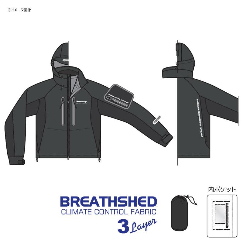 パズデザイン BSストレッチウェーディングジャケット XL チャコールホワイト SBR-038