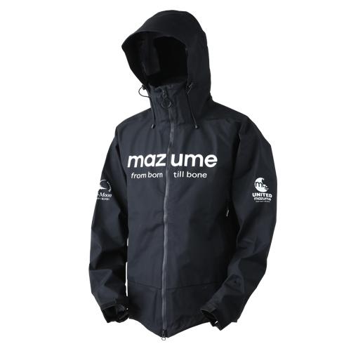 MAZUME(マズメ) mazume レッドムーンレインジャケットVer.2 3L ブラック MZRJ-357-05