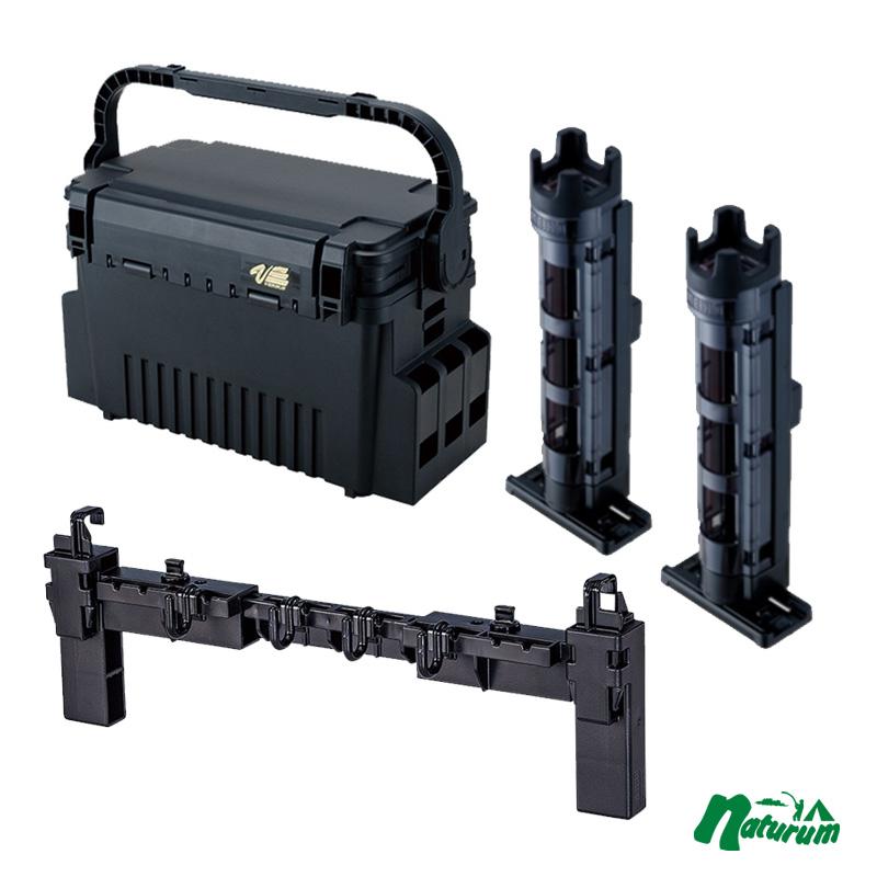 タックルボックス 新品 直営店 メイホウ MEIHO 明邦 2本組+マルチハンガーBMの4点セット Light ランガンシステムVS-7070+BM-250