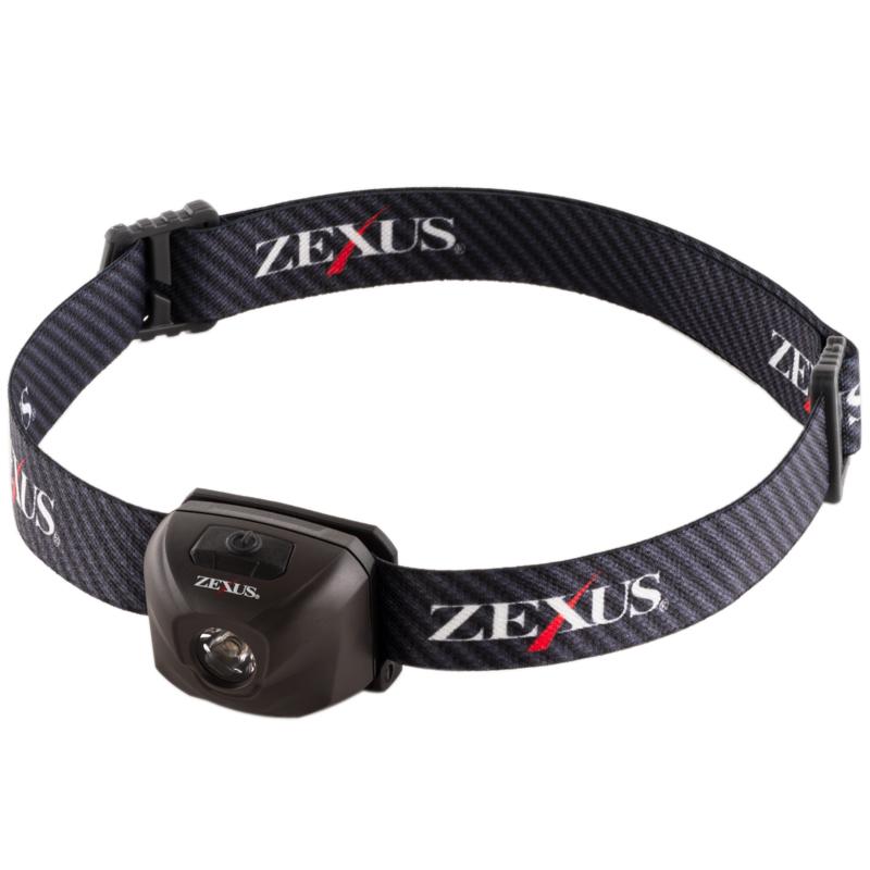 フィッシングツール 全般 ZEXUS ゼクサス USB充電モデル 25%OFF ブラック 最大300ルーメン ZX-R10 超激安特価