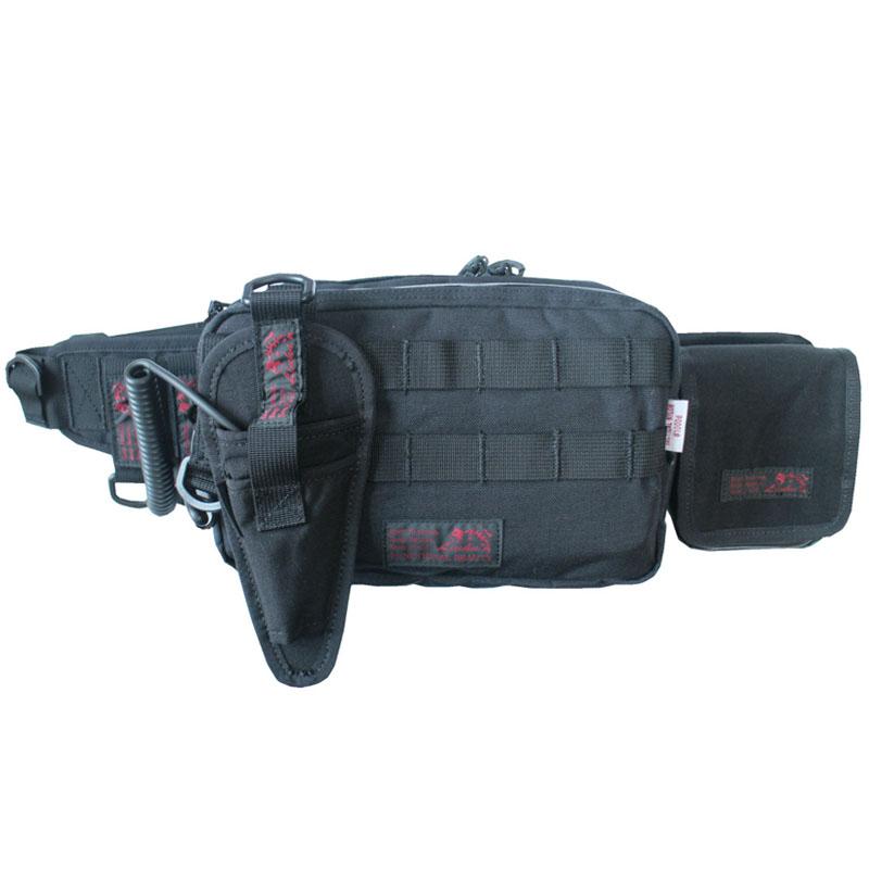 LINHA(リーニア) BODY BAG 「ULTIMATE」 TYPE2 セット BLACK(ブラック) MSB-20N SET