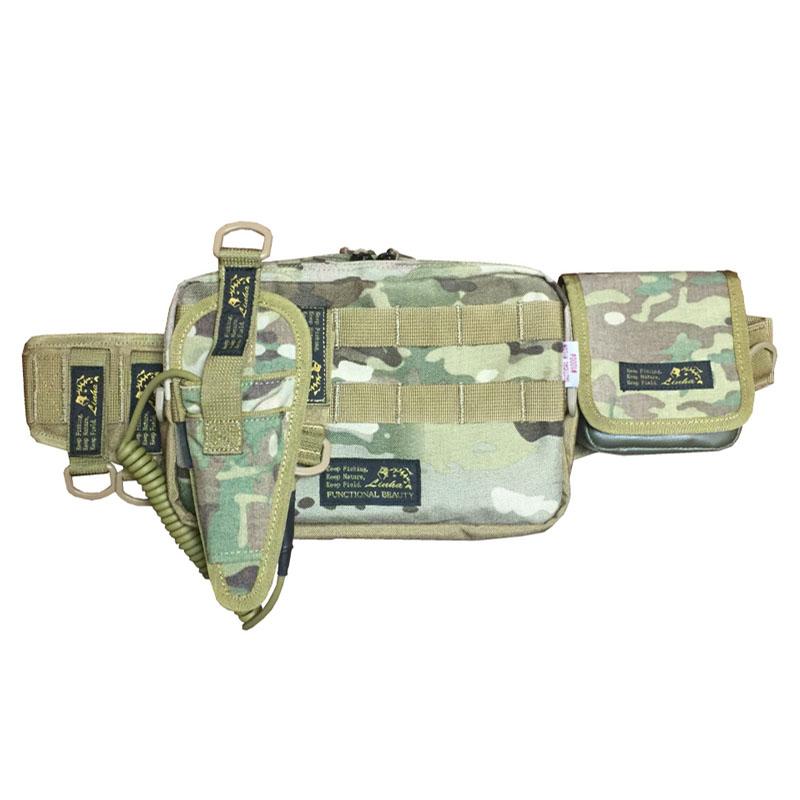 LINHA(リーニア) BODY BAG 「ULTIMATE」 TYPE2 セット CAMO(カモ) MSB-20N SET